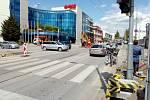Rekonstrukce křižovatky Pražské třídy a ulice Karoliny Světlé v Českých Budějovicích začala v květnu 2020. Skončit má nejpozději 23. června.