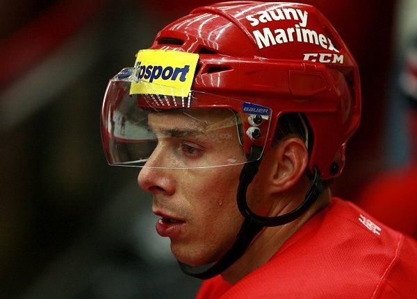 Kapitán HC Mountfield Jiří Šimánek