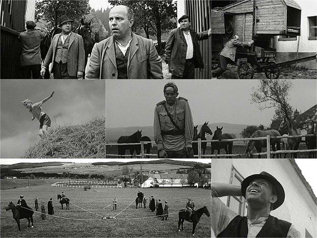 Na statku u Albrechtic nad Vltavou a v Novém Dvoře u Písku vznikla před 51 lety část trezorového filmu Karla Kachyni Ať žije republika.