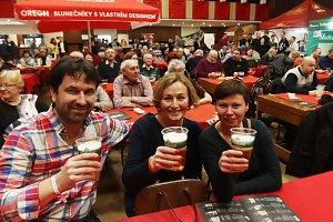 International beer festival v českobudějovické Gerbeře.