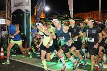 Noční běh Budějovicemi NN Night Run 2021.