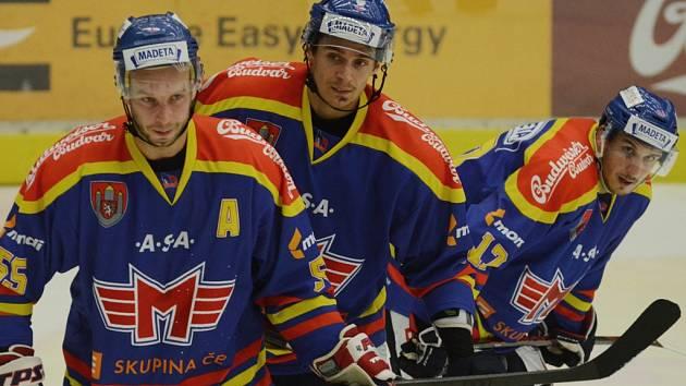 Tomáš Nouza (vlevo) s Romanem Vráblíkem a Michalem Švihálkem. k