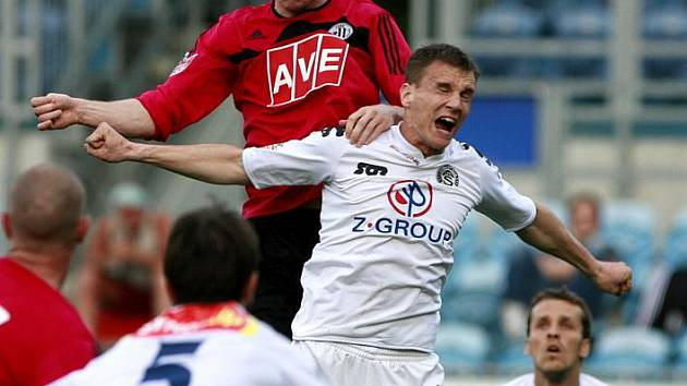 Utkání 22. kola Gambrinus ligy mezi SK Dynamo České Budějovice a 1.FC Slovácko.