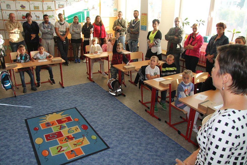 První školní den na ZŠ Hlinecká