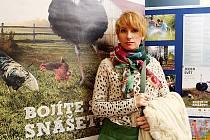 Režisérka a dokumentaristka Zuzana Piussi přivezla do Tábora snímek od Fica do Fica.