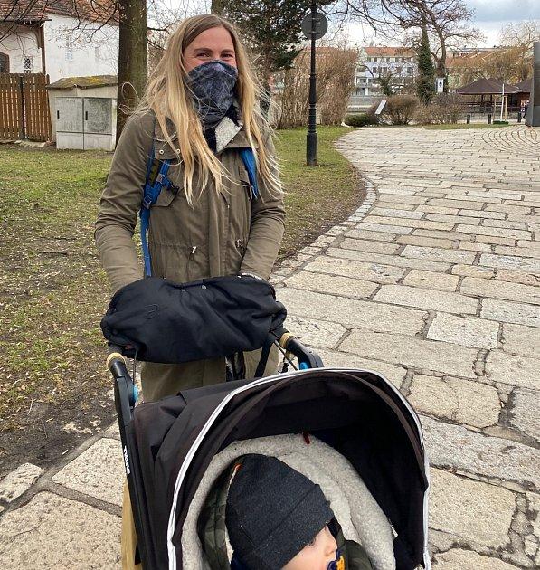 Eva Kouďová, Písek, 32let, na mateřské dovolené