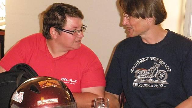 Jana Fesslová a Radek Kriegler loni absolvovali cestu do Himáláje.
