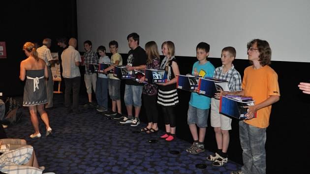 Děti natočily film o cyklistice.