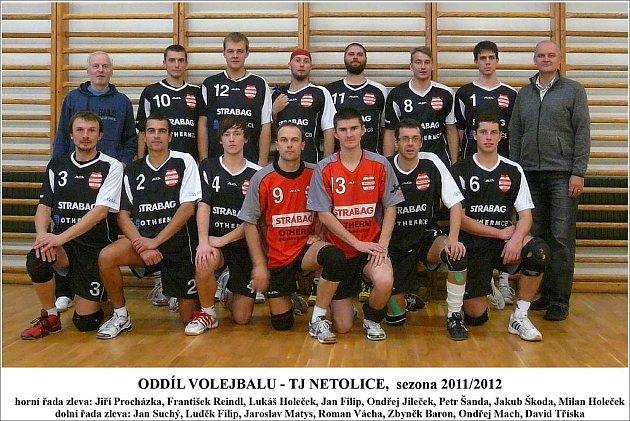Netolický druholigový tým pro sezonu 2011/2012