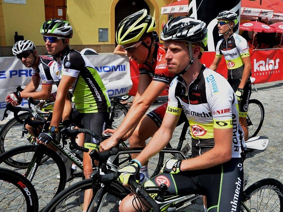 Jan Svorada junior na startu