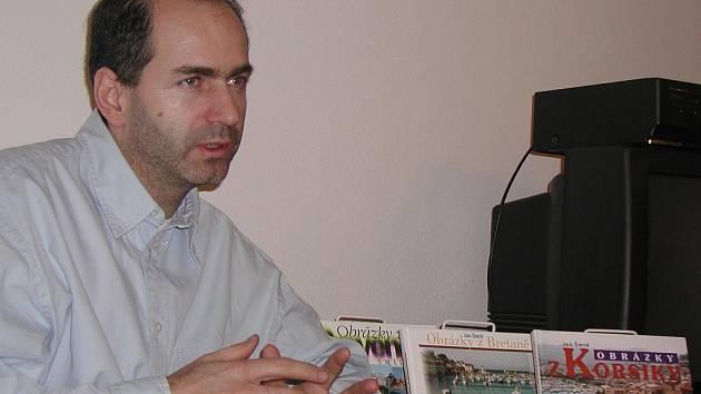 Jan Šmíd představí 26. dubna svou novou knihu o Paříži v budějovickém Metropolu.