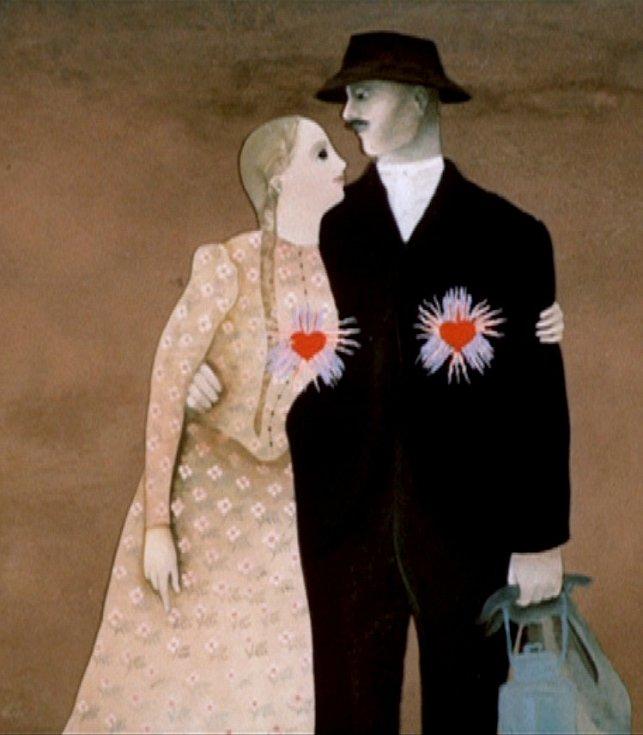 Animované filmy, které natočil Jiří Brdečka (1917 - 1982), známý hlavně jako 'otec' Limonádového Joea, přináší nové, třídílné DVD. Fotografie z filmu Horníkova růže.