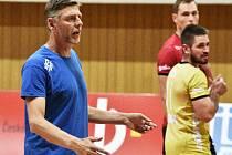 René Dvořák, trenér volejbalistů z Č. Budějovic.