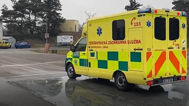 Zdravotnická záchranná služba Jihočeského kraje. Ilustrační foto.