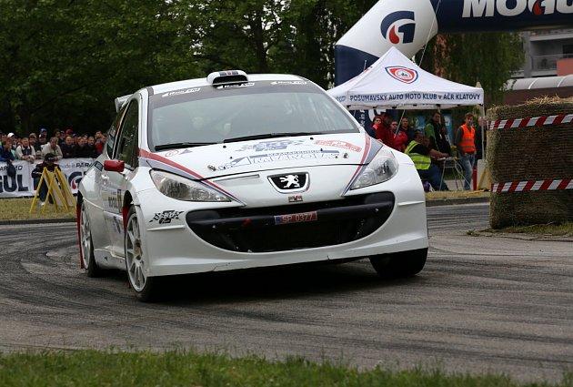 Rallye Český Krumlov je sportovní událostí víkendu na jihu Čech.