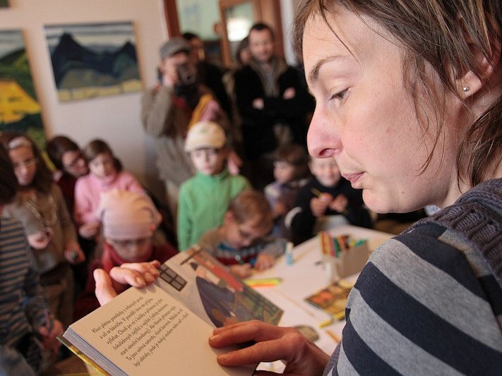 Ilustrátorka, malířka a spisovatelka Tereza Říčanová.