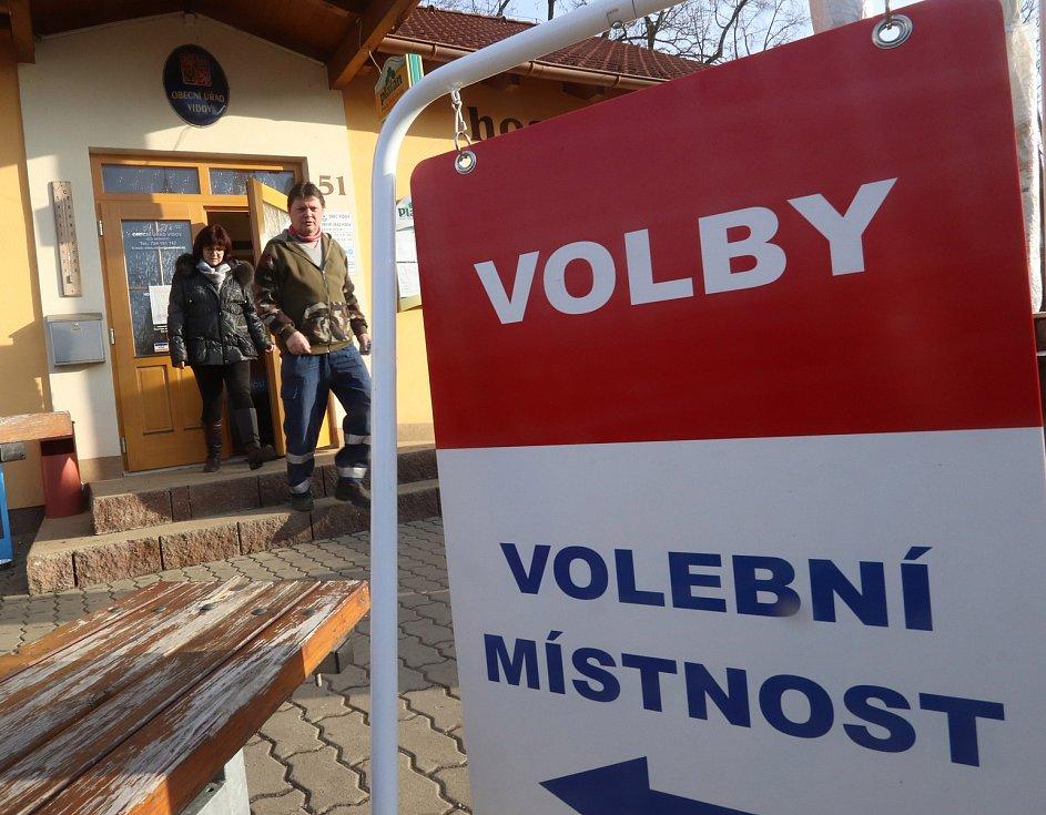 Volby ve Vidově u Českých Budějovic