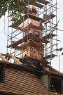 Zámeček v Boršově nad Vltavou prochází rekonstrukcí.
