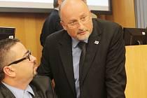 Snímek z ustavujícího zasedání českobudějovického zastupitelstva 22. listopadu 2014.