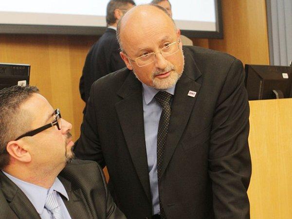 Snímek zustavujícího zasedání českobudějovického zastupitelstva 22.listopadu 2014.