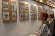 Dvacet pět let s Kerlesem,výstava v Českém rozhlase