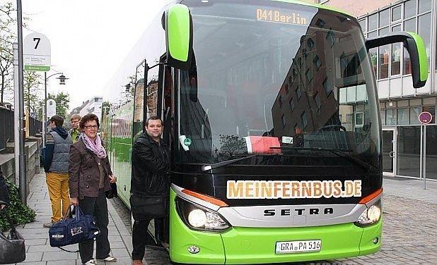Busem zPasova do Berlína?