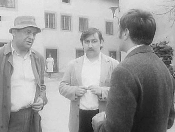 Záběry zfilmu Případ pro začínajícího kata natočené vČeském Krumlově.