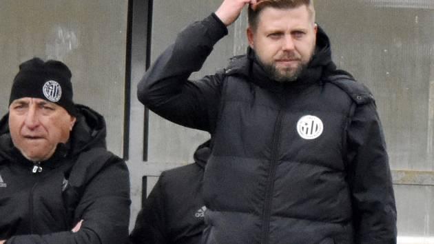 Trenér David Horejš byl s výkonem týmu v Riedu spokojen.