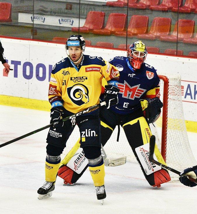 Hokejisté Madeta Motoru České Budějovice porazili v extralize Zlín 3:1.