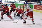Hokejová reprezentace porazila v rámci Euro Hockey Challenge v Jindřichově Hradci Rakousko 7:2.