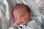 Valerie Vorlíčková se narodila 22. 1. 2019 jako nejmladší z šesti dětí Ivany Vorlíčkové. Na svět vykoukla v 17.58 h., vážila 2,95 kg. Poznávat svět bude v krajském městě. Foto: Ilona Lonsmínová