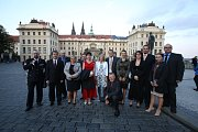 Na Pražském hradě vyznamenali jihočeské policisty oceněním Policista roku 2016