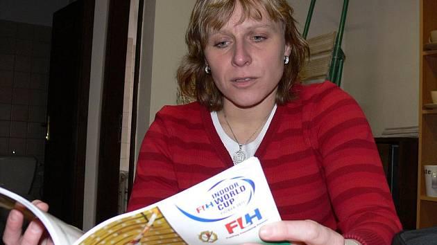 Českobudějovická Eva Staňková, hájící v Rakousku barvy HC Wels, si v únoru zahrála halový pozemní hokej na MS v Poznani.