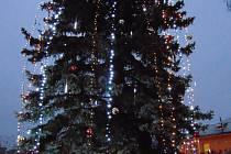 Vánoční strom rozsvítí před Kampou