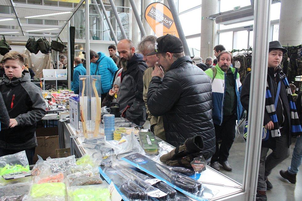 Stovky lidí přilákal v sobotu na českobudějovické výstaviště první ročník Jihočeského rybářského dne.