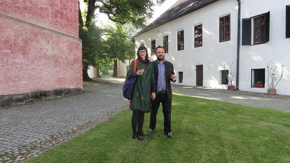 Miloš Dědič zaslal své fotky jako vzpomínku na osobnost jihočeské kultury Stanislava Štádlera