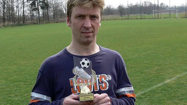 Kanonýr Svatopuk Vokurka nastřílel za Bavorovice přes sto gólů! Celou tuto sezonu ale stráví v Ševětíně.