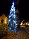 3. Vánoční strom v Hluboké nad Vltavou, město