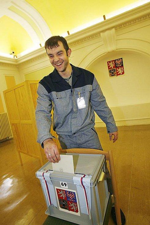 Volby proběhly také v českobudějovické vazební věznici