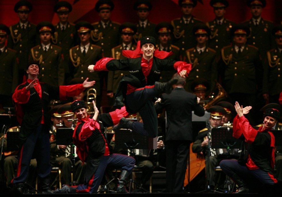 Alexandrovci zpívali 8. prosince v českobudějovické Budvar aréně. Přilákali asi 3000 lidí. Dokonalá byla i taneční čísla.