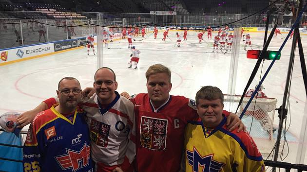 Jihočeši vyrazili na mistrovství světa v hokeji