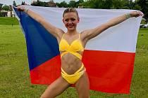 Karolína Beranová přivezla z Krakova čtvrté místo.