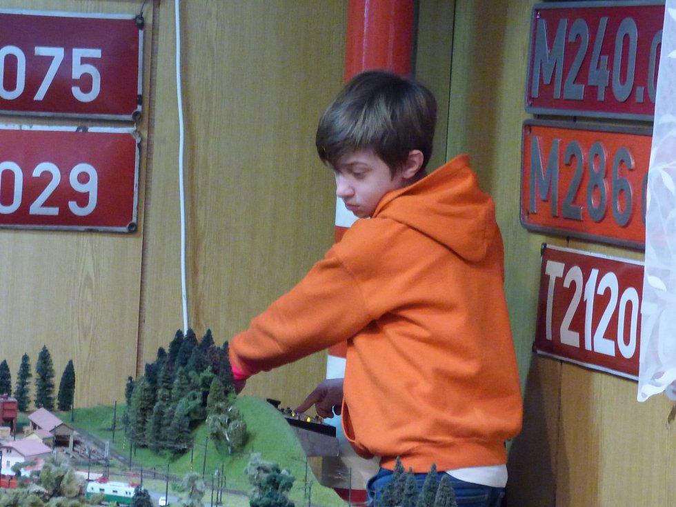 Od 27. do 29. prosince se v Klubu železničních modelářů České Budějovice uskutečnila výstava Mašinky.