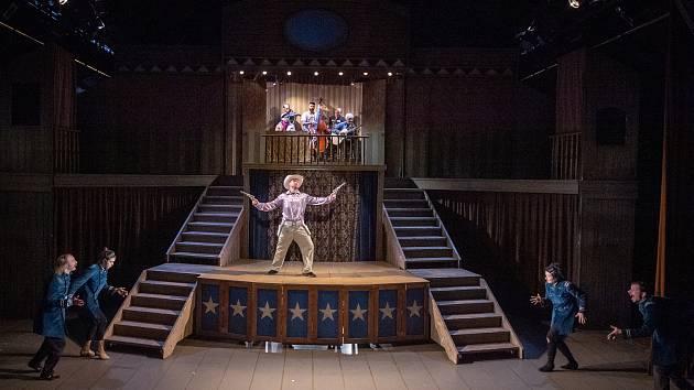 Zkouška představení Deadtown divadla bratří Formanů, 29. září 2019 v Ostravě.
