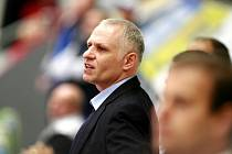 Trenér HC Mountfield Peter Draisaitl.
