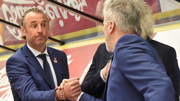 Je na nás, abychom udělali poslední krok, říká trenér ČEZ Motoru Václav Prospal