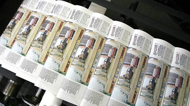 V noci ze čtvrtka na pátek vyjely z rotačky v českobudějovických tiskárnách poslední výtisky jihočeských Deníků. Od nynějška se budou tisknout společně s ostatními v centrální tiskárně.