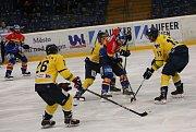 Hokejisté ČEZ Motoru vyhráli v 55. kole první Chance ligy v Ústí nad Labem 1:0.