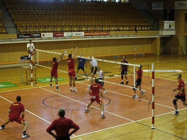 Jihostroj  hrál  ve čtvrtek přípravná utkání s Ostravou.