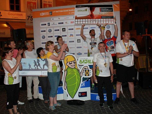 Pro Centrum Bazalka získali bratři Smržové sedmdesát tisíc korun.
